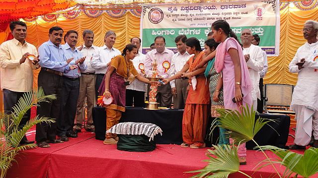 Rabi field day held on 20-01-2013 at KVK, Bagalkot